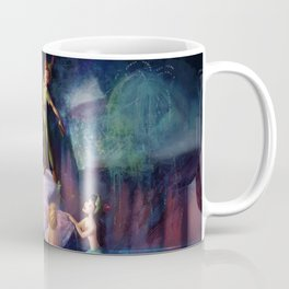 The Mermaid Lagoon-Peter Pan Coffee Mug