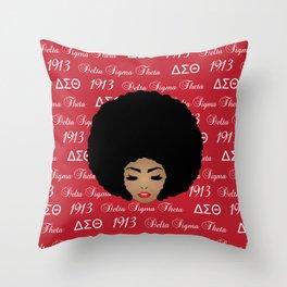 DeltaSigma Theta Throw Pillow
