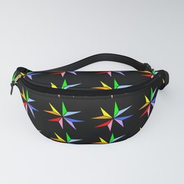 Stars 17- sky,light,rays,pointed,hope,estrella,mystical,spangled,gentle. Fanny Pack