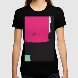Large minimal abstract T-shirt