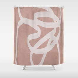 Abstract Flow I Shower Curtain