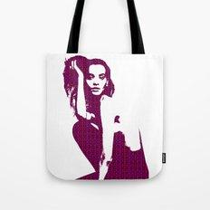 Model Liya Kebede Tote Bag