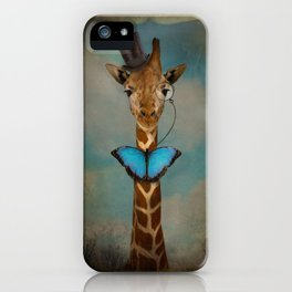 Sir Alfred iPhone Case