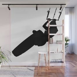 Time To Wake Up Kiteboarder Silhouette Wall Mural