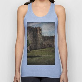 Chepstow Castle Towers Unisex Tank Top
