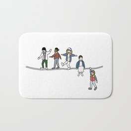 Stranger Things The Acrobats and the Fleas Bath Mat