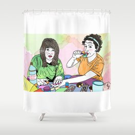 BROAD CITY Shower Curtain