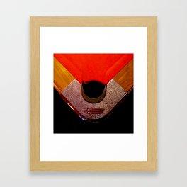 Corner Pocket Kid Framed Art Print