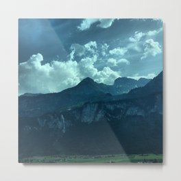 On the edge. Metal Print