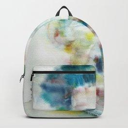 GEORGE ORWELL - watercolor portrait.1 Backpack