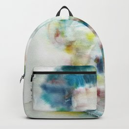 GEORGE ORWELL - watercolor portrait.1 Backpack