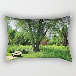 A Time for Silence Rectangular Pillow