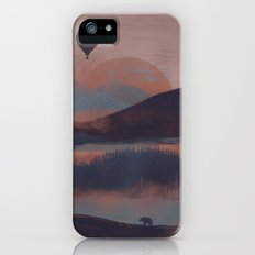 Adrift in the Mountains... iPhone (5, 5s) Slim Case