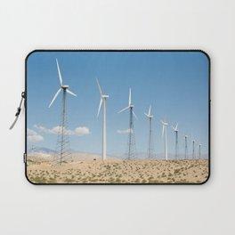 San Gorgonio Pass wind turbine Laptop Sleeve