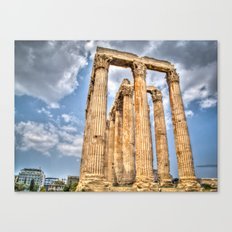 Temple of Zues Canvas Print