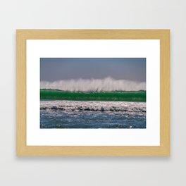 Offshore Wall Framed Art Print
