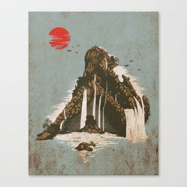 hidden castle Canvas Print