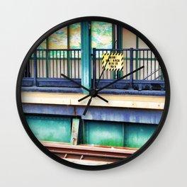 Bay 50 Street Wall Clock