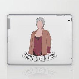 Fight Like Carol Laptop & iPad Skin