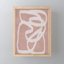 Abstract Flow I Framed Mini Art Print