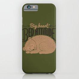 Big Heart Bed Attitude iPhone Case
