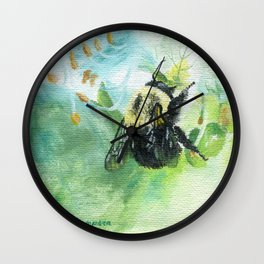Synchronicity by Teresa Thompson Wall Clock