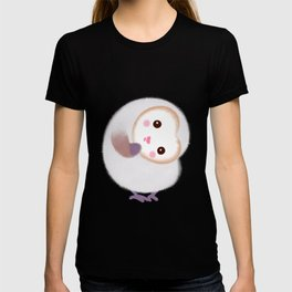 Baby Barn Owls - pink T-shirt