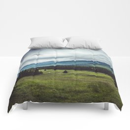 Mountain Trail - Landscape and Nature Photography Comforters