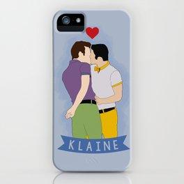 Klaine Kissing iPhone Case