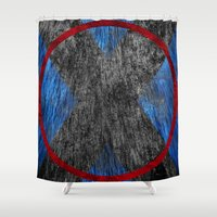 beast Shower Curtains featuring Beast by Some_Designs
