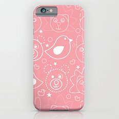 Baby Animals Coral Slim Case iPhone 6s