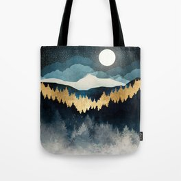Indigo Night Tote Bag