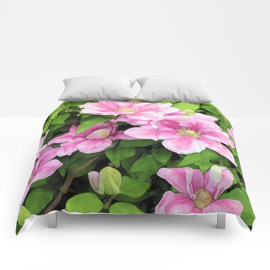 Clematis Comforters