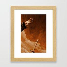 Burning Skys Framed Art Print