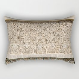 Windowsill at Royal Alcazar of Seville Rectangular Pillow