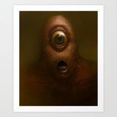 Eyeclops Art Print