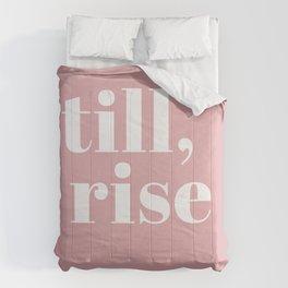 still I rise VIII Comforters