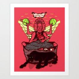 jumpmanism Art Print