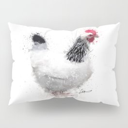 Light Sussex Hen Pillow Sham
