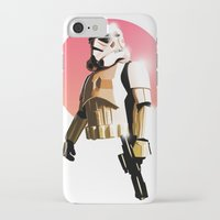 stormtrooper iPhone & iPod Cases featuring Stormtrooper by Luke