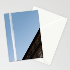 white line Stationery Cards