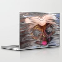 otter Laptop & iPad Skins featuring OTTER by ..........