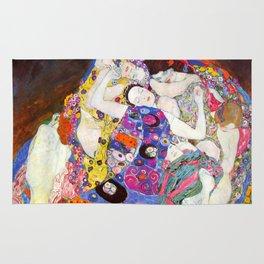 """Gustav Klimt """"Die Jungfrauen (The Virgins)"""" Rug"""