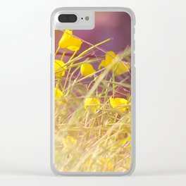 Barbed Beauty Clear iPhone Case