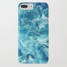 Ocean is shaking iPhone 7 Plus Slim Case
