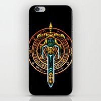 sword iPhone & iPod Skins featuring Bloody Sword by mirodeniro
