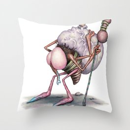 The Dregs (A Flew) Throw Pillow