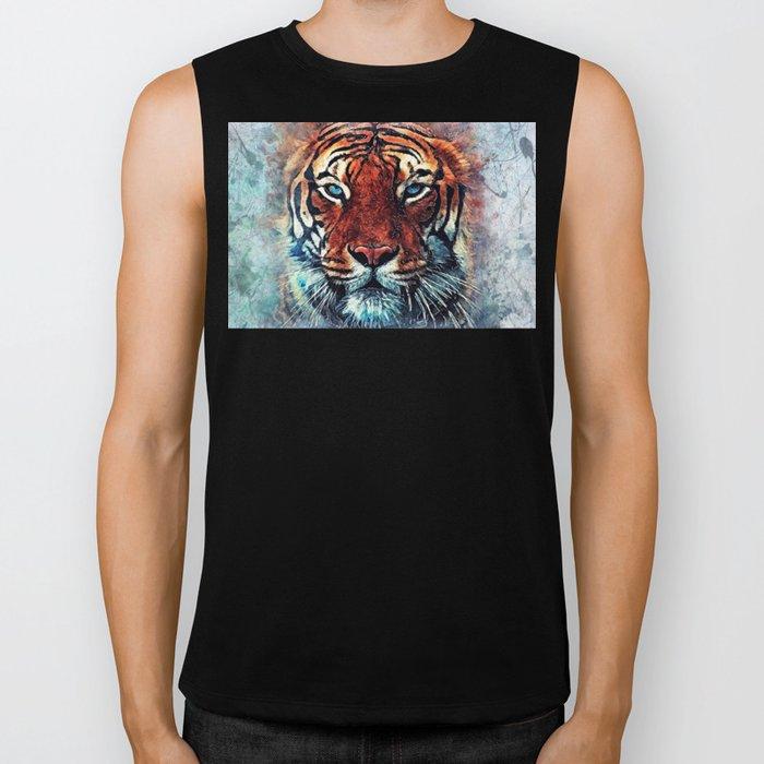 Tiger spirit Biker Tank