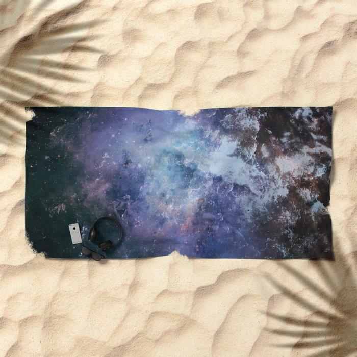 α Vega Beach Towel