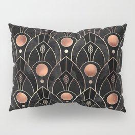 Art Deco Leaves / Version 3 Pillow Sham